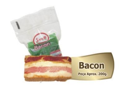 Bacon aproximadamente 200g