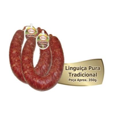 Linguiça de carne suína defumada Aproximado 350g
